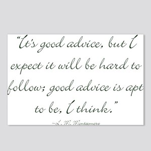 Its good advice Postcards (Package of 8)