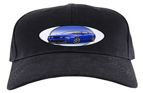 Gt Stang Blue Baseball Hat