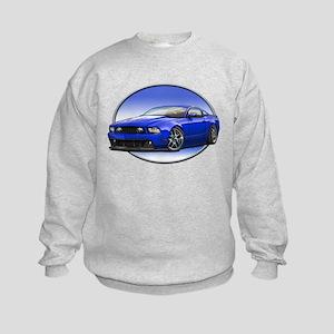 GT Stang Blue Sweatshirt