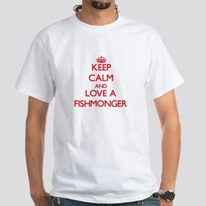 Keep Calm and Love a Fishmonger T-Shirt