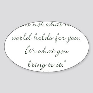 Anne Green Gables Quote Stickers Cafepress