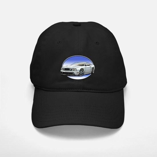 GT Stang White Baseball Hat
