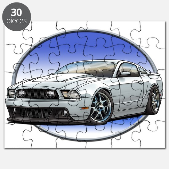 GT Stang White Puzzle