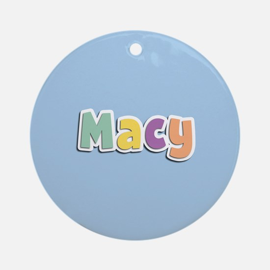 Macy Spring14 Ornament (Round)