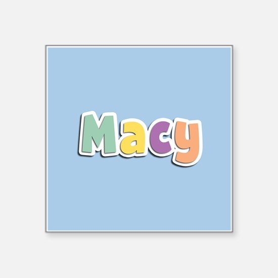 Macy Spring14 Sticker