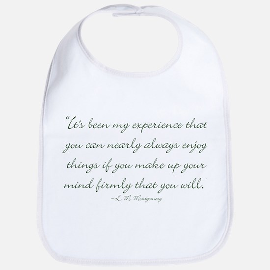 Make up your mind that you will Bib