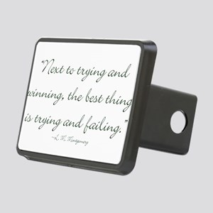 The best thing is trying and failing Hitch Cover