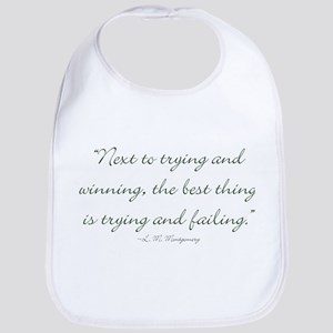 The best thing is trying and failing Bib