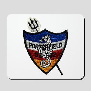 USS PORTERFIELD Mousepad