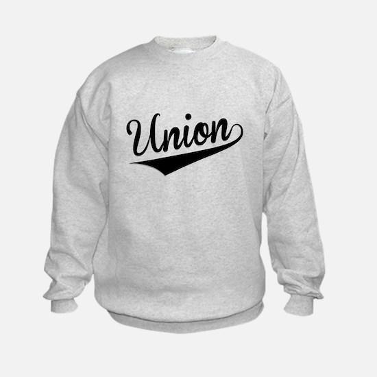 Union, Retro, Sweatshirt