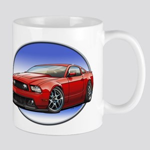 GT Stang Red Mugs