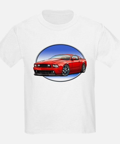 GT Stang Red T-Shirt