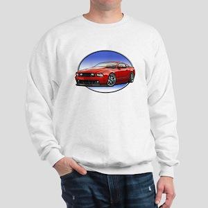 GT Stang Red Sweatshirt