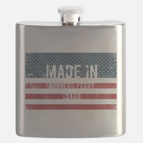 Made in Bonners Ferry, Idaho Flask