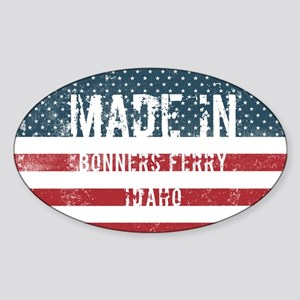 Made in Bonners Ferry, Idaho Sticker