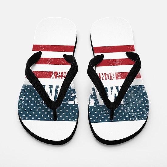 Made in Bonners Ferry, Idaho Flip Flops