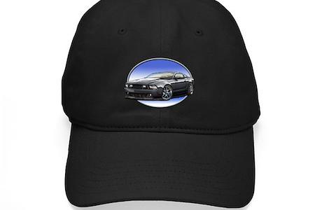 Gt Stang Black Baseball Hat