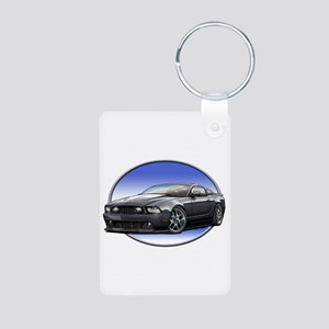 GT Stang Black Keychains