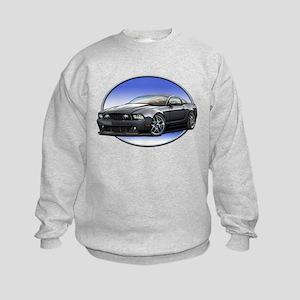 GT Stang Black Sweatshirt