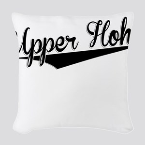 Upper Hoh, Retro, Woven Throw Pillow