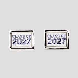 Class of 2027 Rectangular Cufflinks