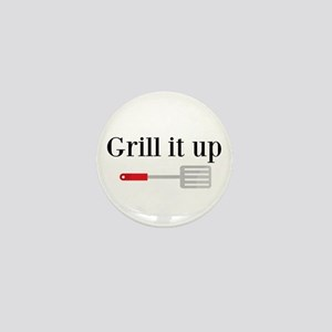 Grill it up Spatula Mini Button
