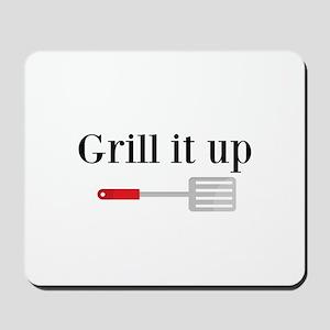Grill it up Spatula Mousepad