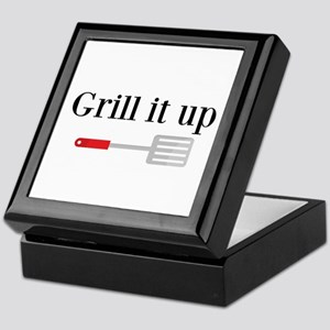 Grill it up Spatula Keepsake Box