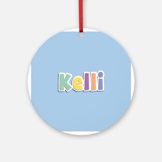 Kelli Spring14 Ornament (Round)