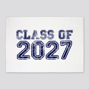 Class of 2027 5'x7'Area Rug