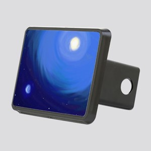 Sun and moon Rectangular Hitch Cover
