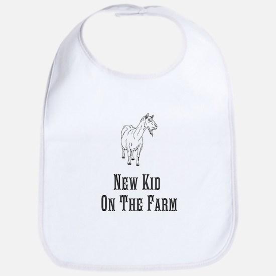 New Kid On the Farm Bib