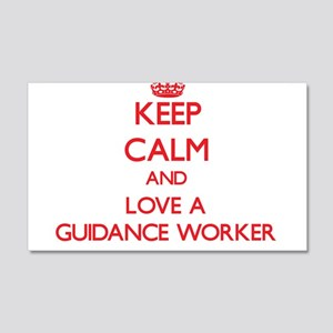 Keep Calm and Love a Guidance Worker Wall Decal