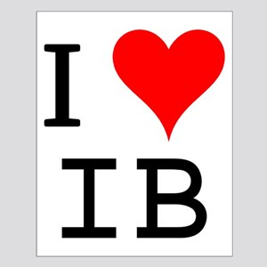I Love IB Small Poster