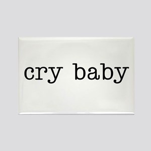 Cry Baby Rectangle Magnet