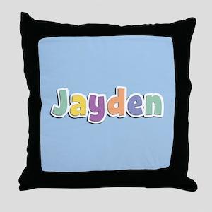 Jayden Spring14 Throw Pillow