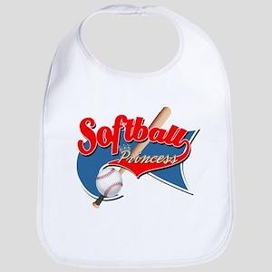 Softball Princess Park Flag Bib