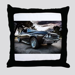 1969 Chevelle Throw Pillow