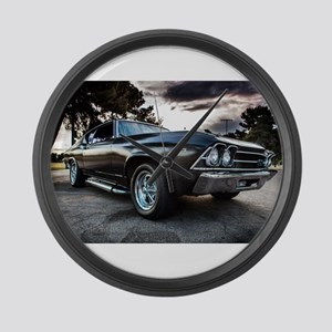 1969 Chevelle Large Wall Clock