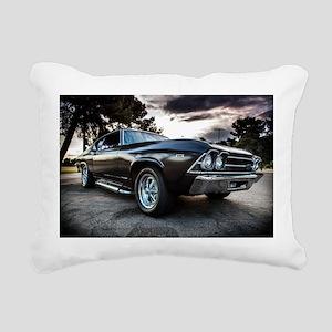 1969 Chevelle Rectangular Canvas Pillow
