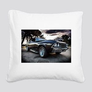 1969 Chevelle Square Canvas Pillow