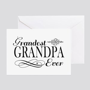 Grandest Grandpa Ever Greeting Cards