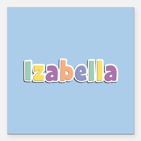 "Izabella Spring14 Square Car Magnet 3"" x 3"""