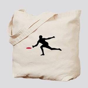 Discgolf player Tote Bag