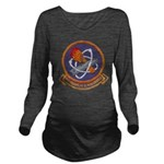 USS FRANKLIN D. ROOS Long Sleeve Maternity T-Shirt