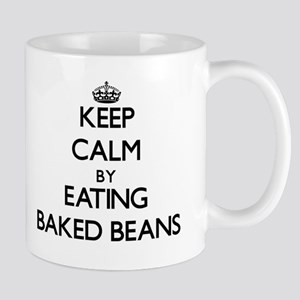 Keep calm by eating Baked Beans Mugs