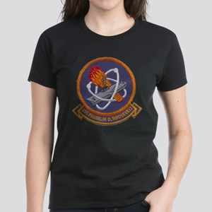 USS FRANKLIN D. ROOSEVELT Women's Dark T-Shirt