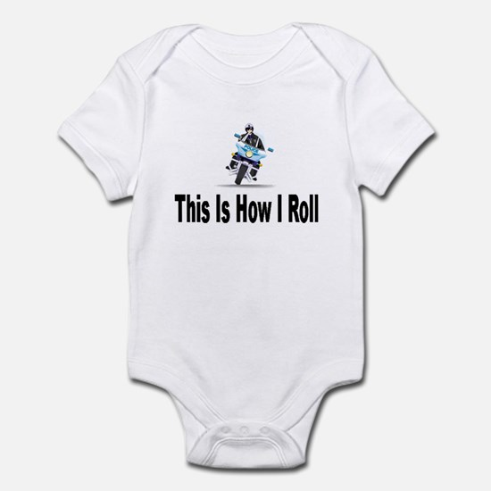Police-How I Roll Infant Bodysuit