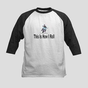 Police-How I Roll Kids Baseball Jersey