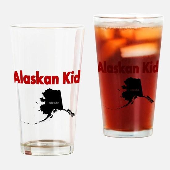 Alaskan born 2 Drinking Glass